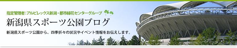 新潟県スポーツ公園ブログ